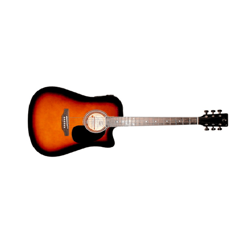 Amaze AW41CE - 101SP Electro Acoustic Guitar - Sunburst - Open Box