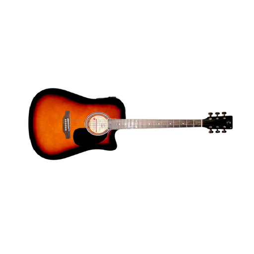 Amaze AW41CE-101 Electro-Acoustic Guitar - Sunburst - Open Box