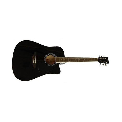 Amaze AW41CE-101SP Cutway Electro Acoustic Guitar - Black - Open Box
