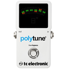T.C. Electronic Polytune Pedal Tuner