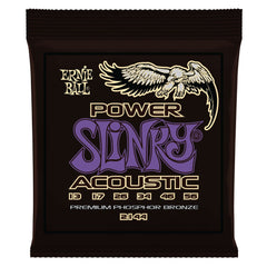 Ernie Ball 2144 Power Slinky Acoustic Guitar Strings