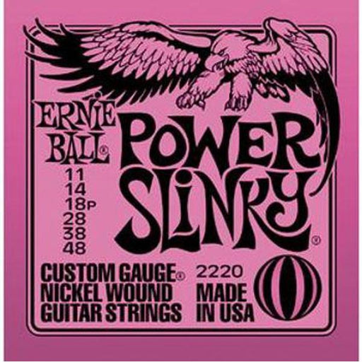 Ernie Ball 2220 Power Slinky Nickel Wound Electric Guitar Strings