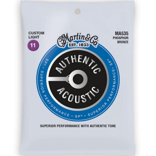 Martin MA535 Cstm Lt 11-52 Traditional Phosphor Bronze Acoustic Strings