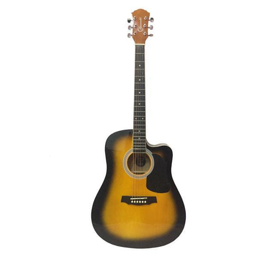 Granada PRLD-14C Acoustic Guitar - Sunburst - Open Box
