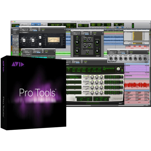 Avid Pro Tools 12 Recording Software With Activation Card & iLok