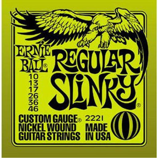 Ernie Ball 2221 Regular Slinky Nickel Wound Electric Guitar Strings