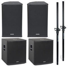 Samson RSX112A + RSX18A Active Bundle - Best Buy