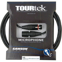 Samson Tourtek TM15 Microphone Cable 4 Metres