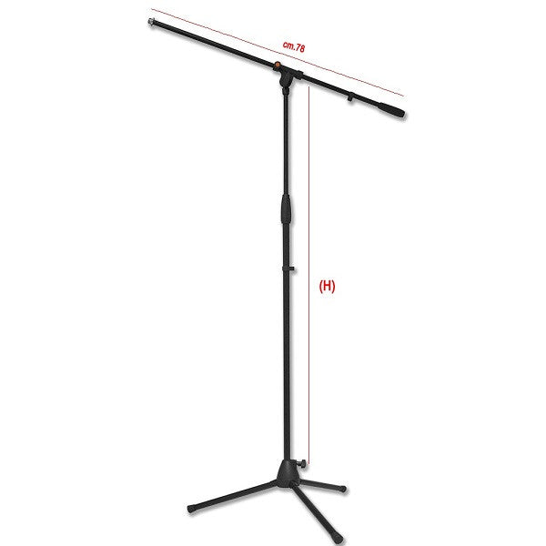 Bespeco SH13NE Microphone Stand -Open Box