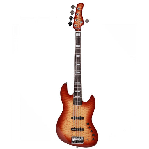 Sire Marcus Miller V9 Alder 5-String Electric Bass Guitar - Ebony Fretboard - Brown Sunburst