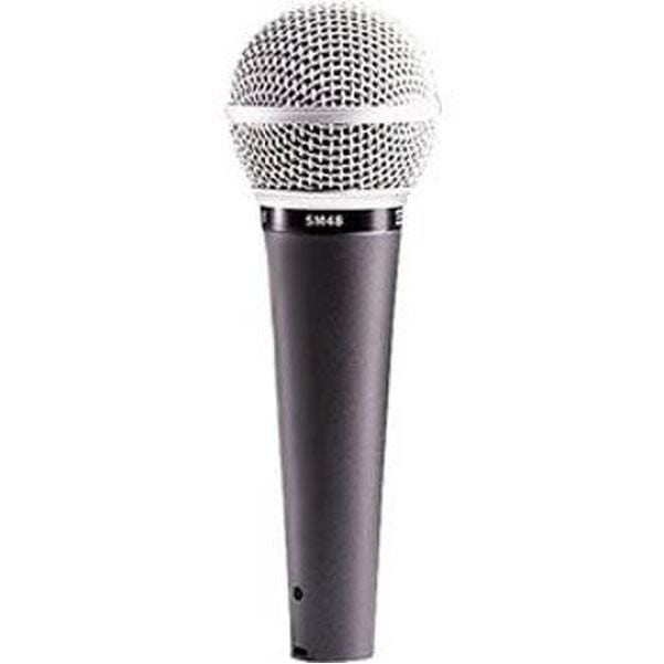 Shure SM48-LC Dynamic Cardioid Vocal Microphone