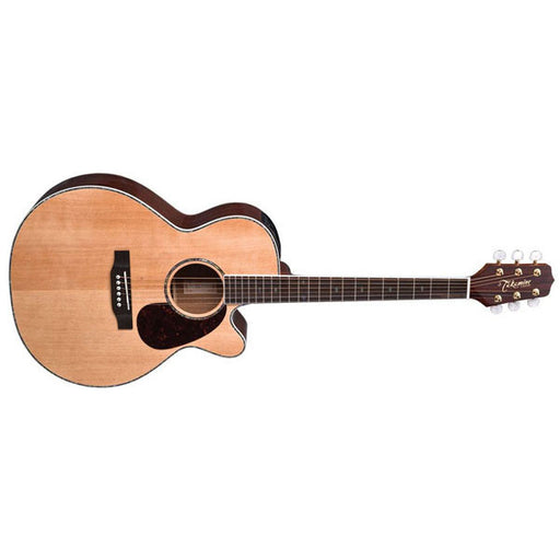 Takamine EG540DLX Acoustic-Electric Guitar - Natural