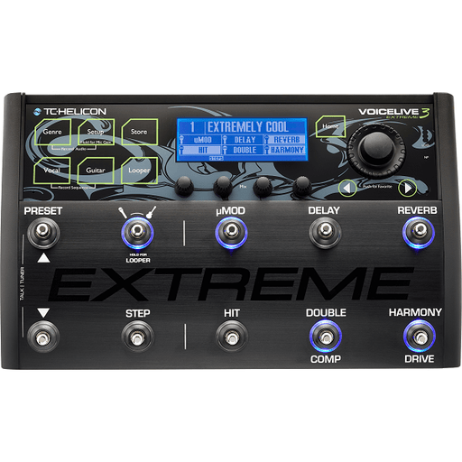 TC Helicon VoiceLive 3 Extreme Vocal Effects Processor - Open Box