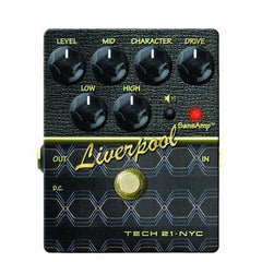 Tech 21 SansAmp V2 Character Series Liverpool Guitar Effects Pedal - Open Box