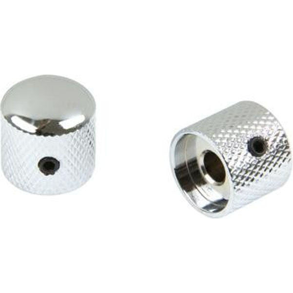 Bajaao Metal Dome Control Knobs (Set of 2) - Chrome