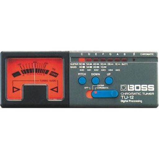 Boss TU-12 Professional Chromatic Tuner