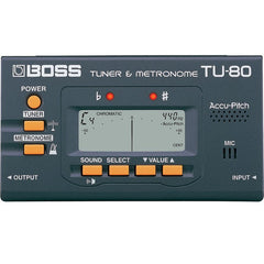 Boss TU-80 Guitar Tuner and Metronome