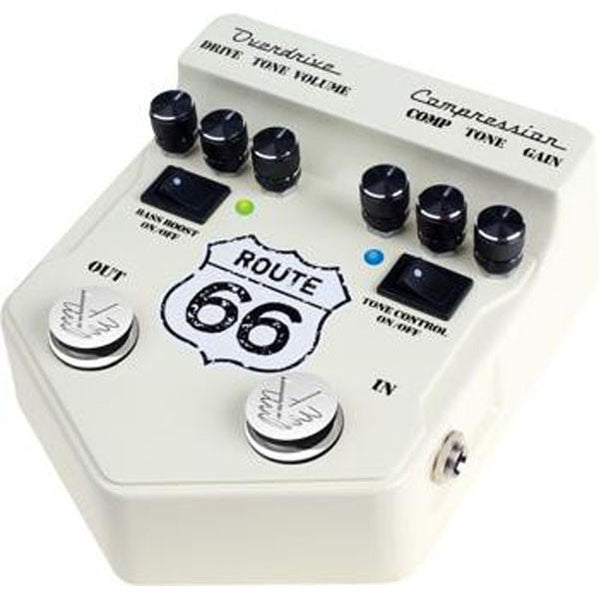 Visual Sound  V2RT66 Route 66 Overdrive / Compression Pedal