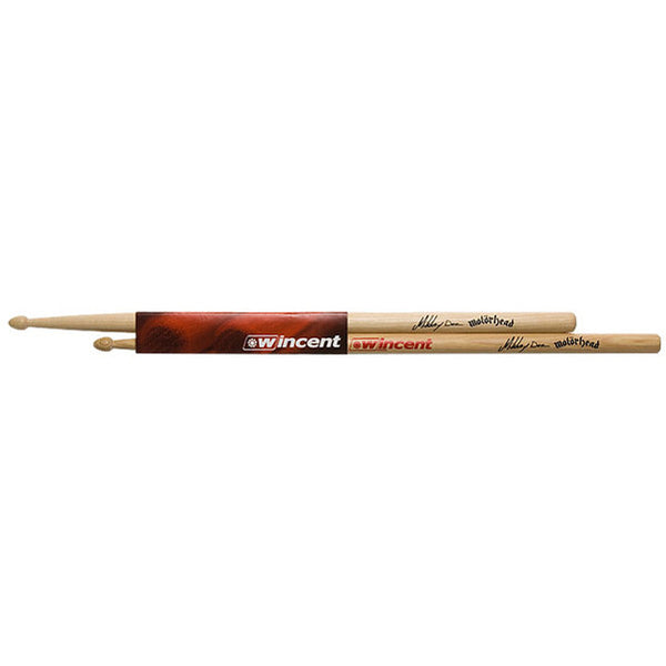 Wincent W-MDS Mikkey Dee (Motorhead) Signature Hickory Drum Sticks