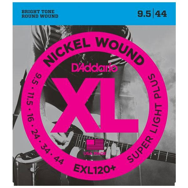 D'Addario EXL120+ Electric Guitar Strings - Nickel Super Light