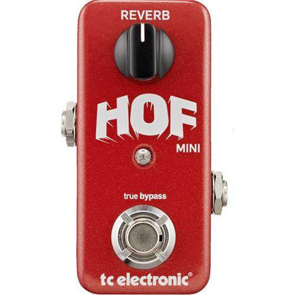 TC Electronic Hall of Fame Mini Reverb Guitar Pedal
