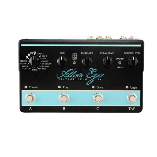 TC Electronic Alter Ego X4 Vintage Echo Guitar Pedal