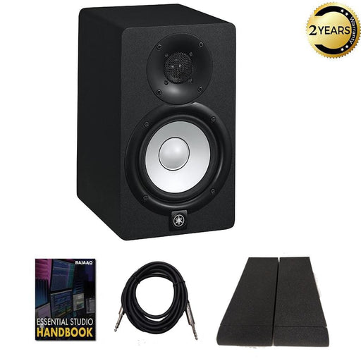 Yamaha HS-5 Studio Monitor Speaker with Isolation Pad, Cable and Ebook  - Single Unit