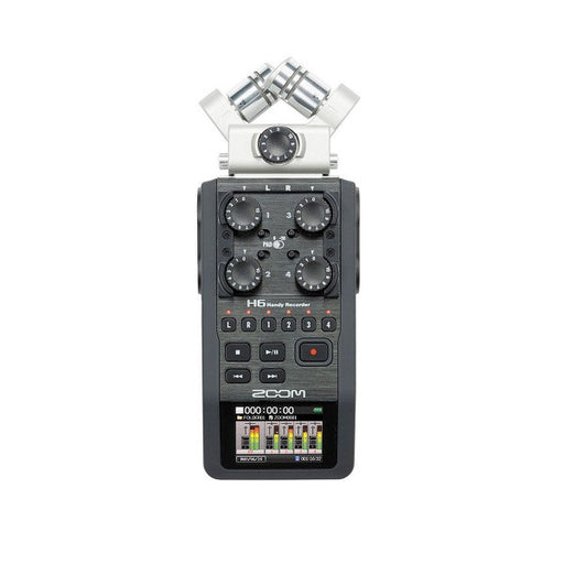 Zoom H6 Handheld Portable Audio Recorder w/ Interchangeable Microphone