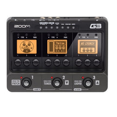 Zoom G3 Guitar Multi-effects Processor version 2.0