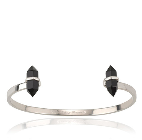 Samantha Wills - Band Of Outsiders Cuff - Black Onyx