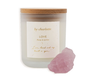 Load image into Gallery viewer, By Charlotte - Love Affirmation Candle - Peony & Lychee