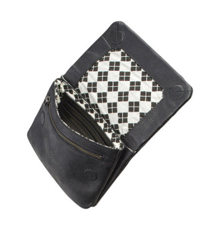 THE NORMA WALLET IN BLACK. 2