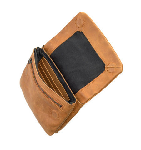 THE NORMA WALLET IN TAN. 2