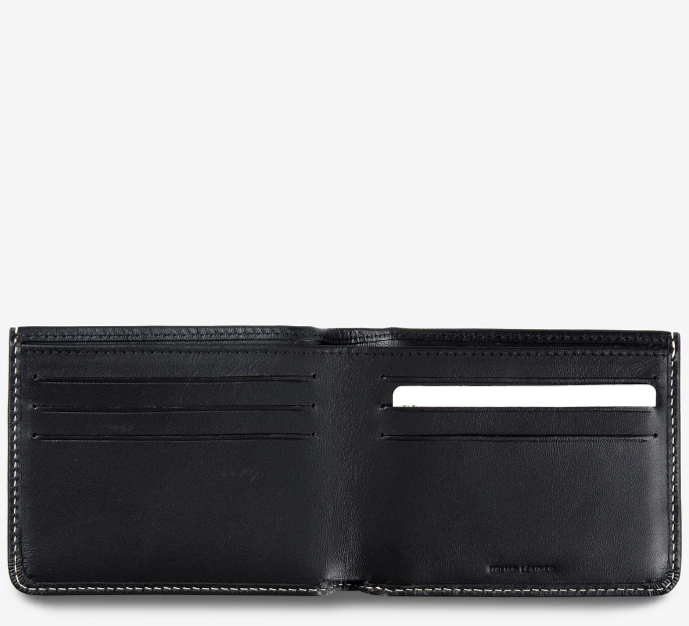 Status Anxiety - Alfred Wallet in Black