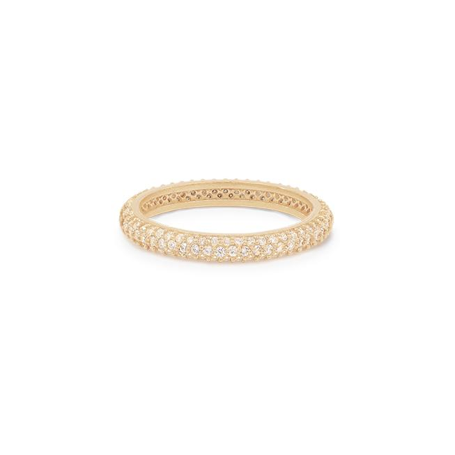 By Charlotte - Light Catcher Ring - Gold