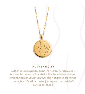Load image into Gallery viewer, Kirstin Ash - Authenticity Amulet - 18K Gold Vermeil