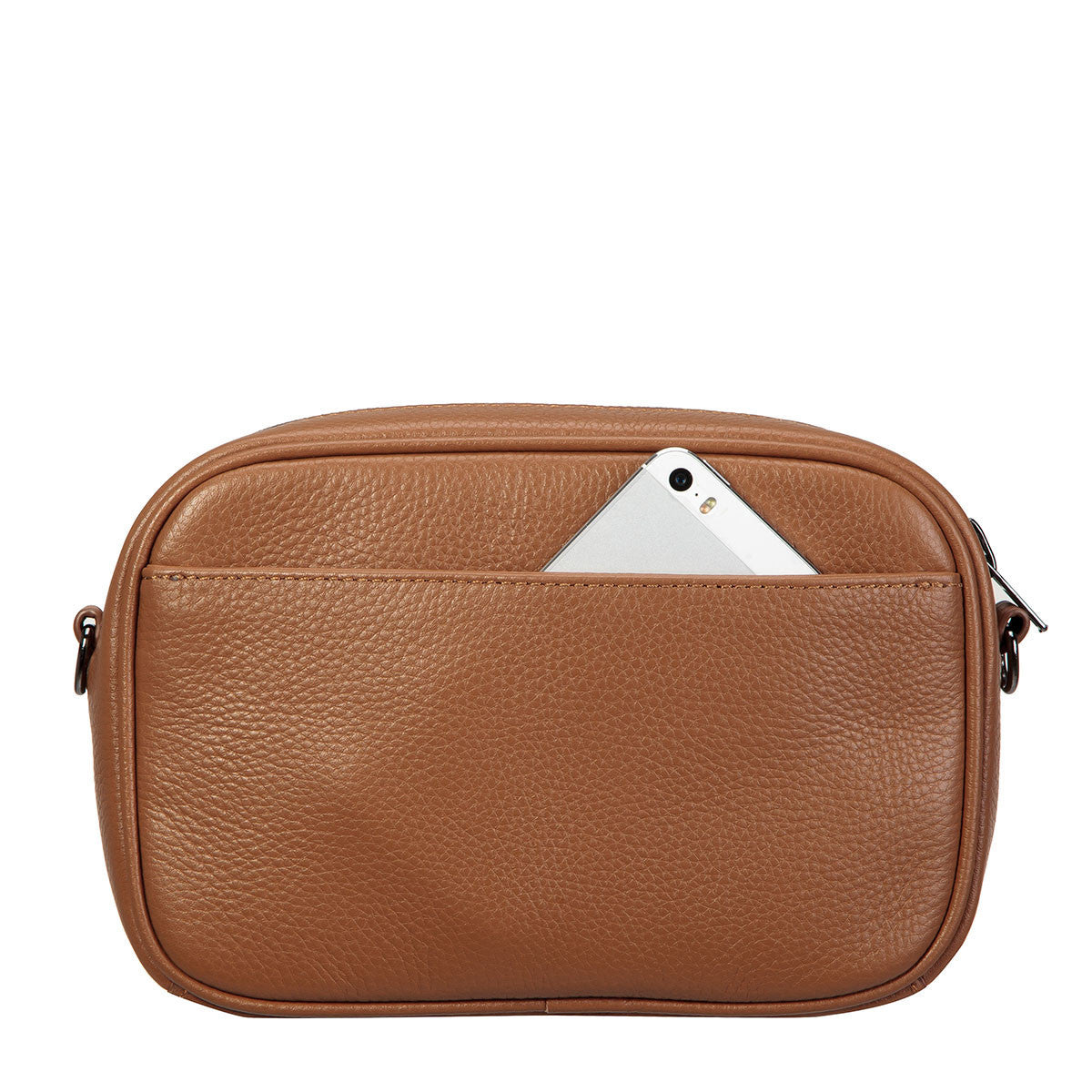 THE PLUNDER TAN LEATHER BAG FROM STATUS ANXIETY 4