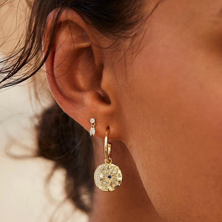 Load image into Gallery viewer, By Charlotte - Wish Earrings in Gold
