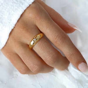 Midsummer Star - Gold Andromeda Ring