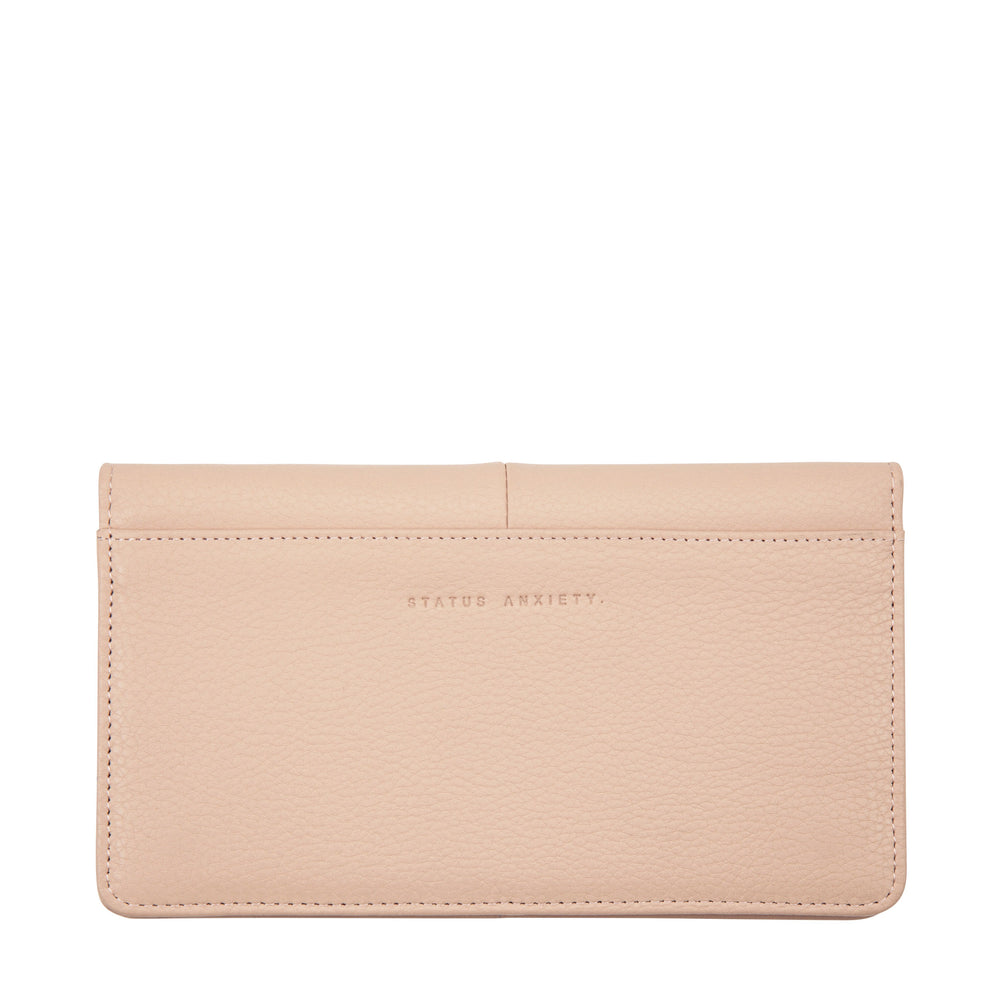 Status Anxiety - Triple Threat Wallet in Dusty Pink