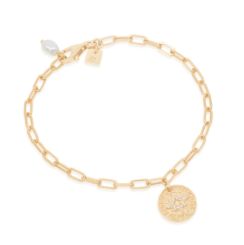 By Charlotte - Gold Written In The Starts Bracelet
