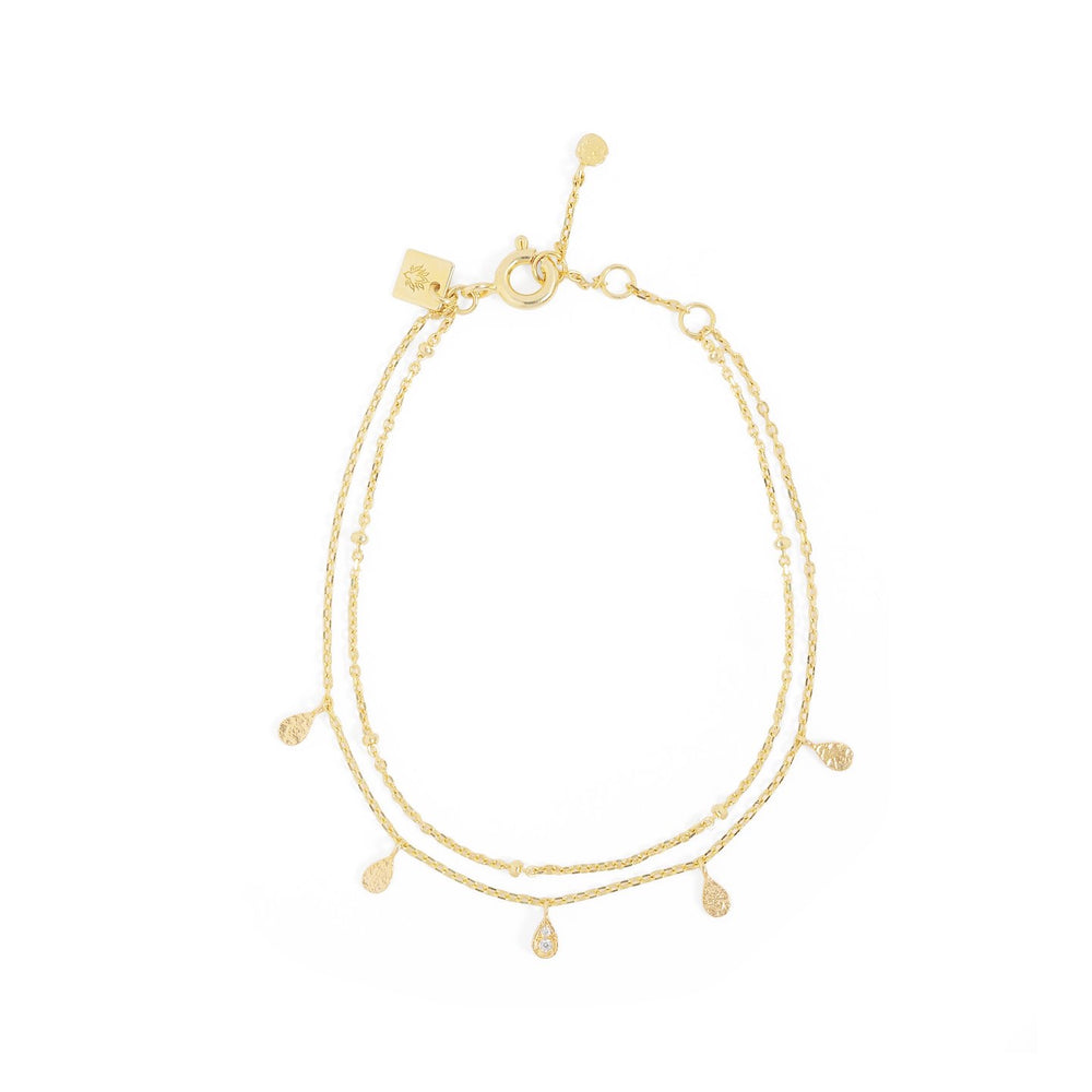 By Charlotte - Illuminate Bracelet in Gold