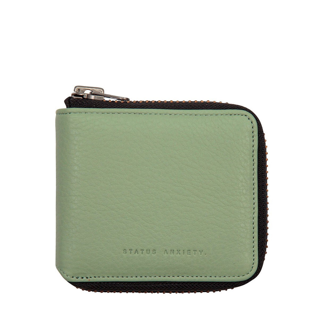 Status Anxiety - The Cure Wallet in Mint Green
