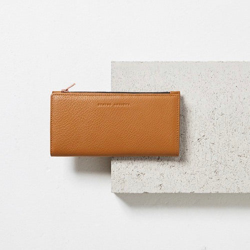Status Anxiety - In The Beginning Wallet in Tan