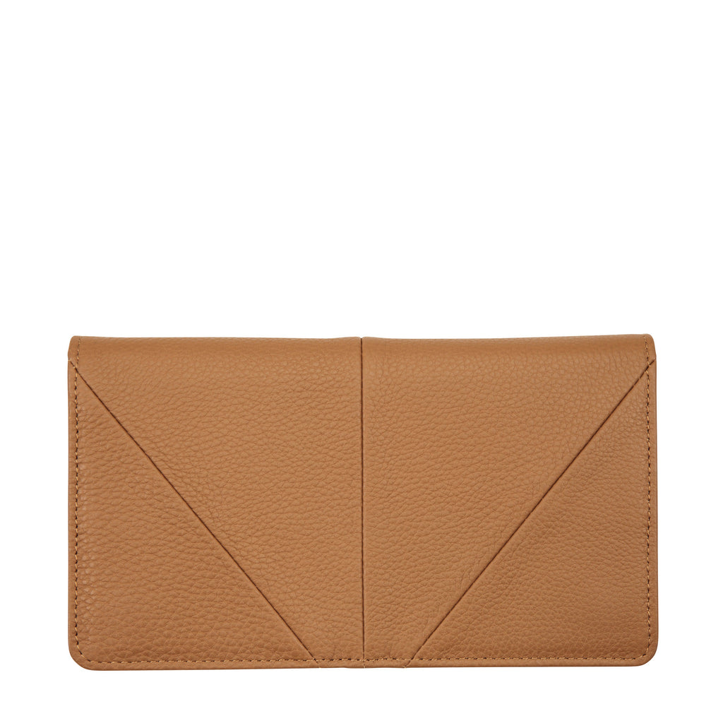 Status Anxiety - Triple Threat Wallet in Tan
