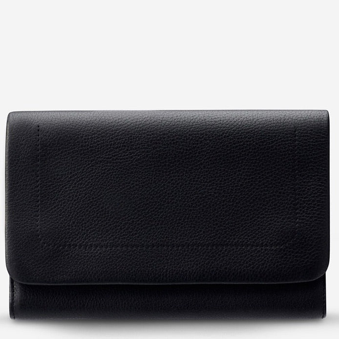 Status Anxiety - Remnant Wallet in Black