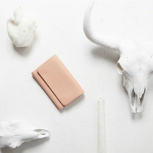 Status Anxiety - Remnant Wallet in Dusty Pink