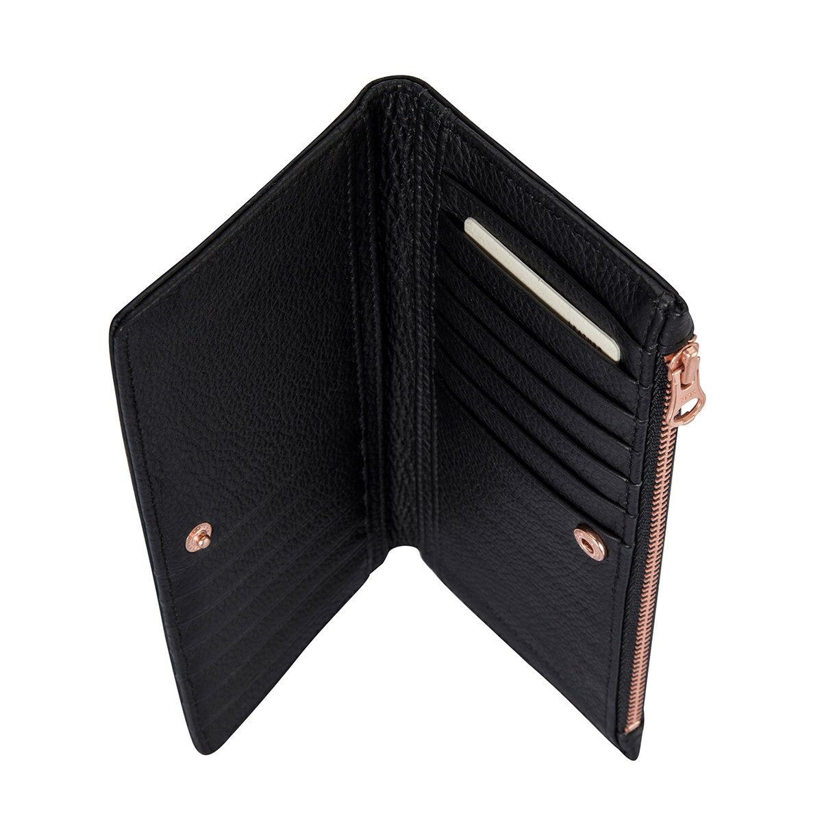 Status Anxiety - In The Beginning Wallet in Black