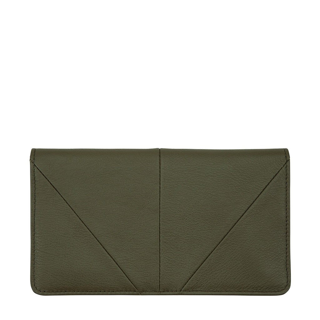 Status Anxiety - Triple Threat Wallet in Khaki
