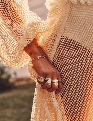 By Charlotte - Gold Enlightened Ring